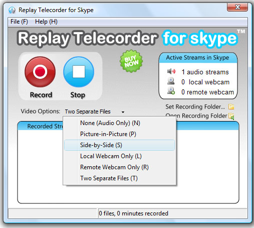 Skype Call to Record1 Record Skype Calls