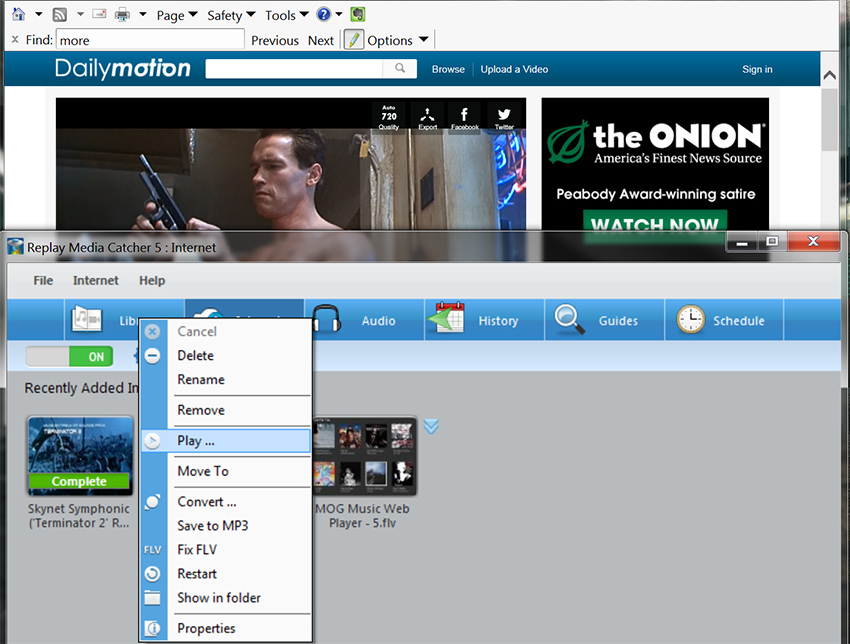 How to download Dailymotion y DailyMotion Downloader Action