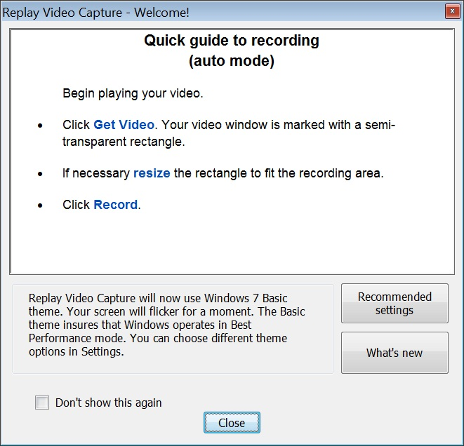 quick guide test1 Webinar Software: Recording Tips
