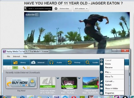 How to record SWF files Download Streaming Videos with Replay Media Catcher
