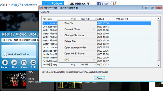 how to record myspace videos MySpace Downloader for Videos