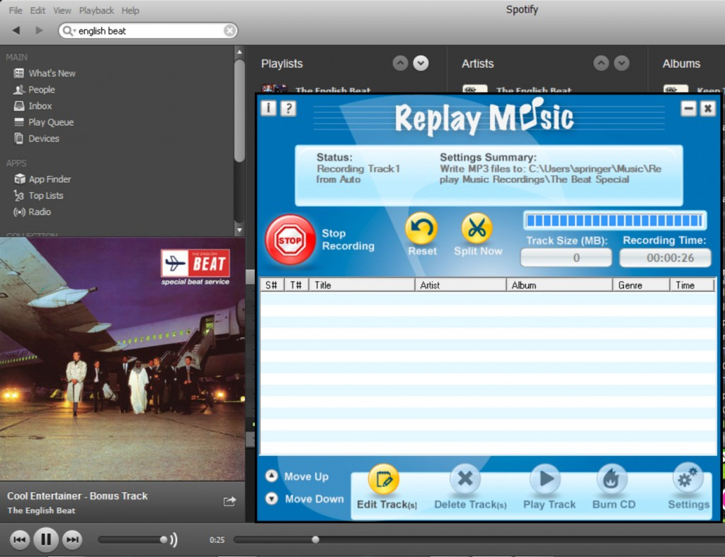record spotify 31 1024x788 How to Record Spotify Music