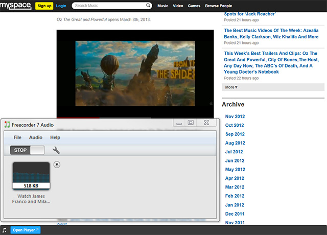 record audio online 3 Overview: Record Streaming Audio
