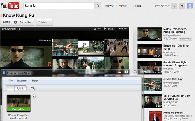 record youtube video 4 Overview: Record Streaming Audio