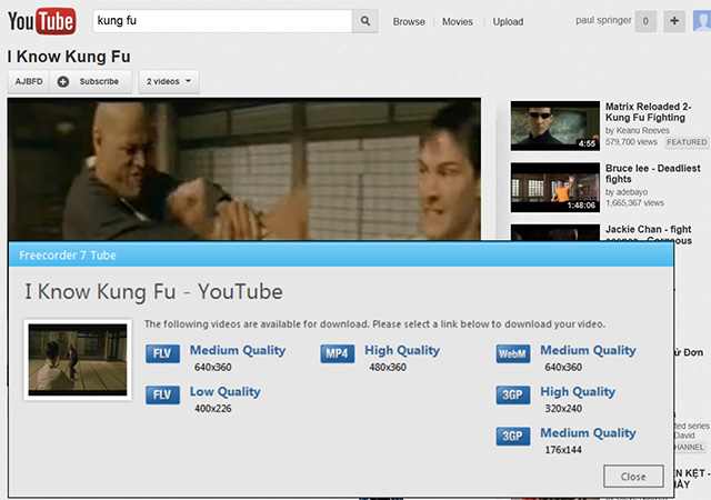 record youtube Overview: Record Streaming Audio