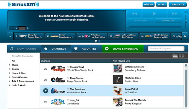 how to record sirius Record SiriusXM Radio Shows