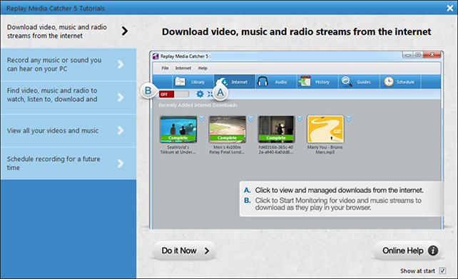 RPM 5 tutorial page How to Record RTMP and HTTP Streaming Flash Videos and Audio