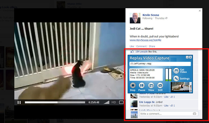 How to Capture Facebook Videos 2 How to Capture Facebook Videos